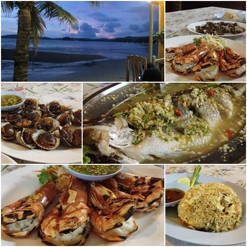 อาหารทะเล @วังทรายซีฟู๊ด