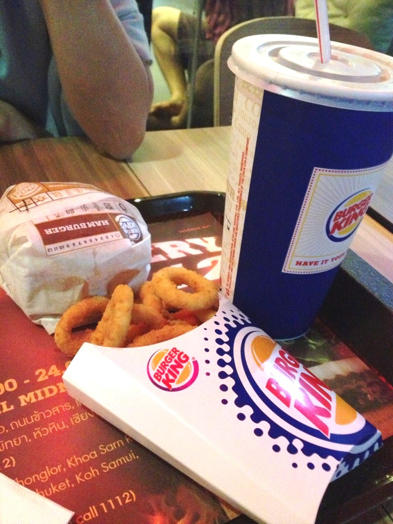 Burger King: Onion Ring