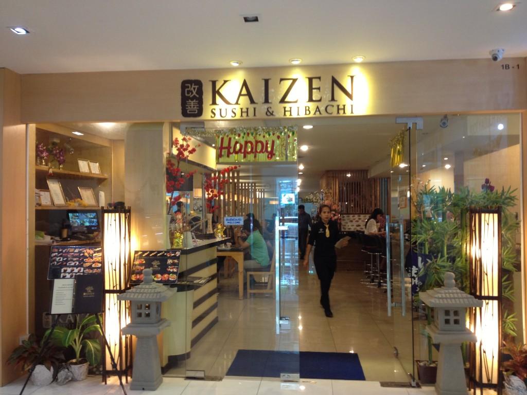 kaizen sushi & hibashi