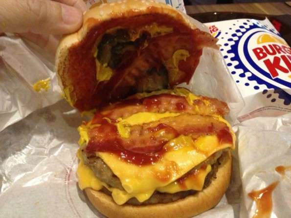 Burger King: Bacon Double Cheese Burger